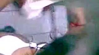 Indian Busty Boobs GF Nude Bath captured by hidden CAM