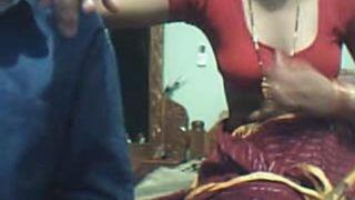 INDIAN JUVENILE PAIR ON WEB WEB CAMERA
