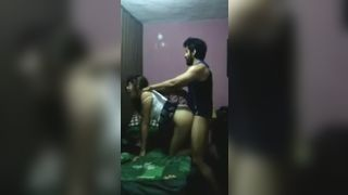 Delhi livein couple enjoying each other