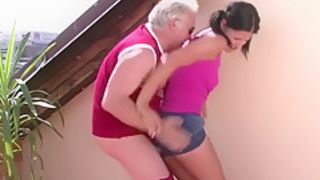 Bf's dad got lucky after abusing himself