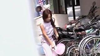 Pretty Asian teen got sharked in Japan while taking a walk