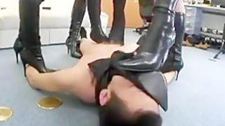 Exotic homemade Femdom, Foot Fetish xxx clip
