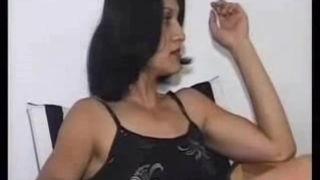 Hairy Turkish hottie slammed and sprayed