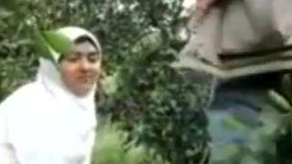 Muslim Girl Sex in Forest