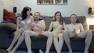 Fabulous Amateur Shemale movie with Big Dick, Swingers scenes