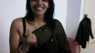 Indian in Darksome Saree