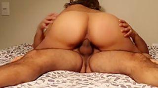 MUST SEE Big Booty Latina MILF Riding Dick