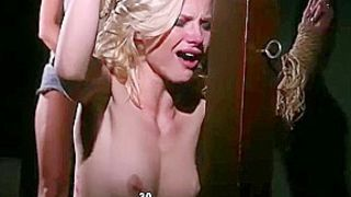 Diana Fox And Zazie Skymm - Wheel Of Pain With A Severely Whipped Blonde