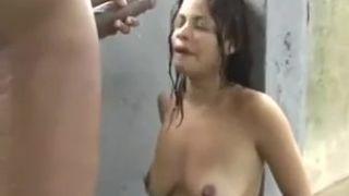 Indian Rain Fuck Skinny Indian Gal Fucked By Hughe Knob