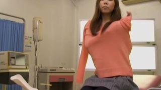 Nice Japanese teen dicked silly in voyeur Japanese sex video