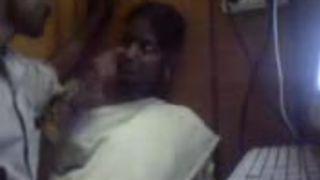 Tamil pair in Internet caffe