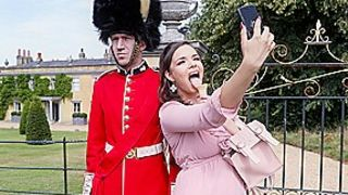 Sofia Lee & Danny D in Stroking The Guards Post - BRAZZERS