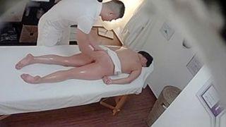 Czech Massage 8 Brunette gets a happy ending massage