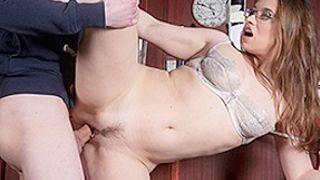 Olga Cabaeva Sam Bourne in Russian maid fucks her customer - PureXXXFilms